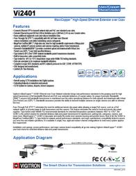 Vigitron VI2401 Leaflet