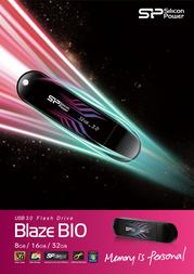 Silicon Power 8GB Blaze B10 SP008GBUF3B10V1B Leaflet