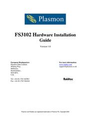 Plasmon FS3102 User Manual