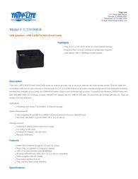Tripp Lite U239-000-R Leaflet