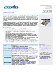 Addonics AEPDVRW248UM User Manual