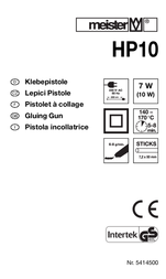 Meistercraft 5414500 7.2 mm 5414500 User Manual