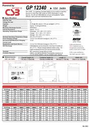 CSB GP12340 Leaflet
