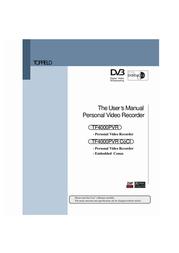 Topfield TF4000PVR User Manual