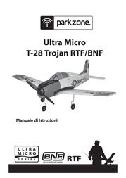 ParkZone Ultra Micro T-28 Trojan BNF PKZU1580 User Manual