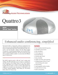 Phoenix Audio Quattro3 MT303 Leaflet