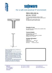 Safeware 31010 Leaflet