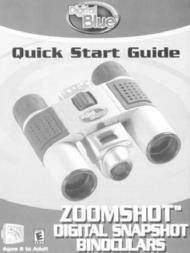 Digital Blue zoomshot Quick Setup Guide