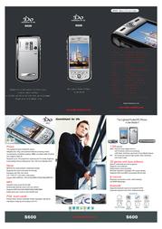 iDo S600 Leaflet