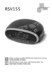 Johnson RSV155 User Manual