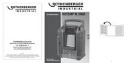 Rothenberger Cartridge gas heater Red, Black 1500001067 1500001067 User Manual