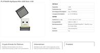 Platinum Mini 4GB 177534 Data Sheet