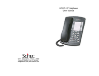 Scitec hdst-12 User Manual
