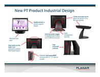 Planar Systems PT1545RPF 997-6303-00 Leaflet