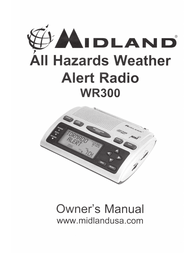 Midland WR-300 Owner's Manual