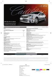 Cadillac SUPERCHARGED 4.4L NORTHSTAR V8 Leaflet