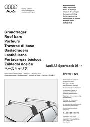 Audi SPORTBACK 05 8P9 071 126 User Manual