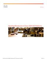 Cisco Cisco ASR 920-4SZ-A Router Design Guide