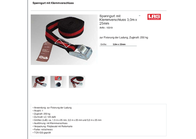 Las Tension belt with clamp lock (L x W) 3 m x 25 mm 25 null 10319 Data Sheet