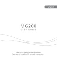 MPIO MG-200 2GB 1162099 User Manual