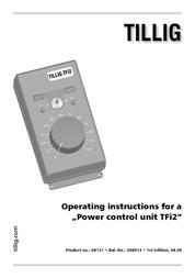 Tillig Elite 08131 Impulsspannungs-Fahrregler TFI2 08131 Fiche De Données