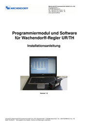 Wachendorff SFUR0KIT Programming Module With Usb Cable SFUR0KIT User Manual