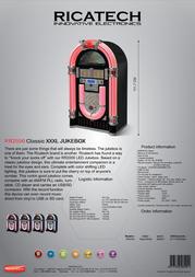 Ricatech RR2000 656001 Leaflet