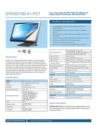 AIS DTW22T100-A1-PCT Leaflet