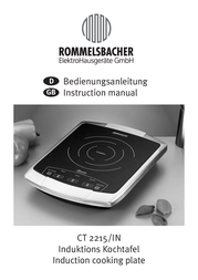 Rommelsbacher CT 2215/IN User Manual