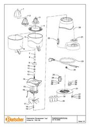 Bartscher 150140 User Manual