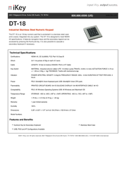 iKey DT-18 DT-18-PS2 Fascicule
