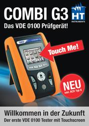 Ht Instruments COMBI G3VDE-tester 1009610 Data Sheet