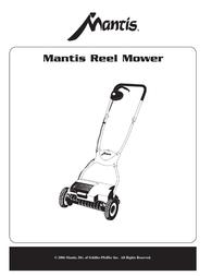 Mantis Reel Mower User Manual