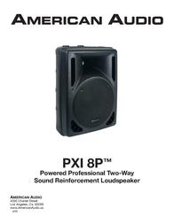 American Audio PXI 8P User Manual