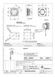 Telegaertner Telegärtner J80020A0001, Pin RJ45 Connector, mount Metal J80020A0001 Data Sheet