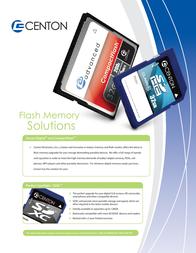 Centon 4GB SDHC 4GBSD3PK-04 Leaflet
