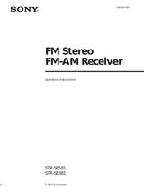 Sony STR-SE581 User Manual
