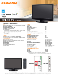 Funai LC320SLX Leaflet