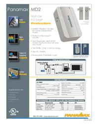 Panamax MD2 Leaflet