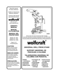 Wolfcraft 3408 用户手册