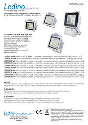Ledino LED-FLG10Sww LED-FLG10SWW Leaflet