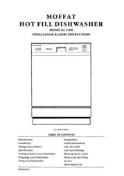 Moffat 31HF User Manual