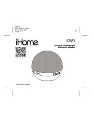 iHome iDM8 User Manual