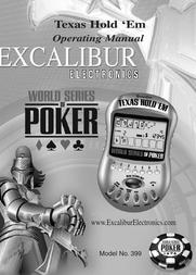 Excalibur 399 Operating Guide