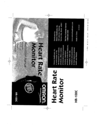 Omron Healthcare HR-100 User Manual