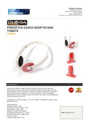 Omega FH3930T Leaflet