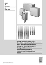 Rittal AE 1050.500 User Manual