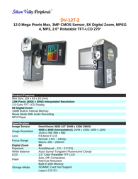 SVP dv-12t-2 Specification Guide
