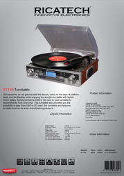 Ricatech RTT88 658001 Leaflet