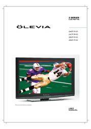 Olevia 242T FHD User Manual